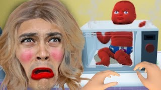 don't put your baby in the microwave (Mother and Baby Simulator)