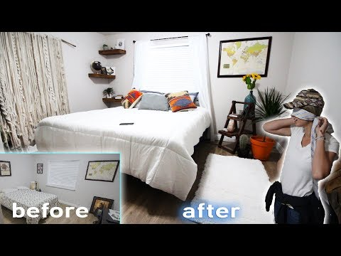 Husband Surprises Wife With Complete Bedroom Makeover!