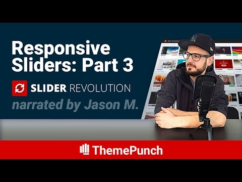 Slider Revolution Responsive Setup Part 3: Background Images