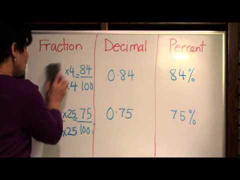 EZ Math Fractions,decimals