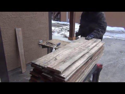 Preparing Pallet Wood (Part 1)