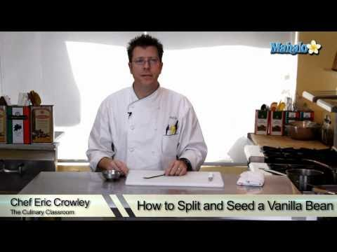How to Split and Seed a Vanilla Bean