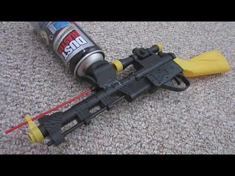 How To Make a FREEZE RAY Gun