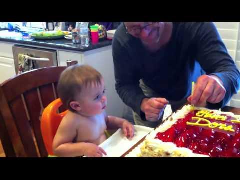 Baby Dora 1st Birthday Cake