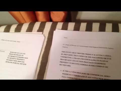 Child Support Affidavits to Help Get Off Child Support