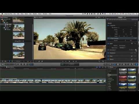 Final Cut Pro X ULTRA SLOW MOTION Tutorial