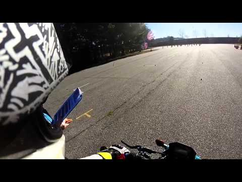 Georgia Motorcycle license test - Passed POV