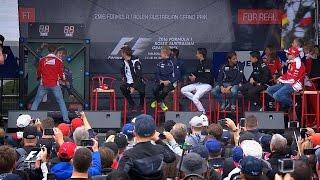 Download A New Boy Band? Australian Grand Prix F1 Fan Forum Video