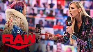 Charlotte Flair has a war of words with Asuka and Rhea Ripley: Raw, April 19, 2021
