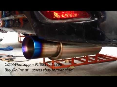 HKS Original Performance Exhaust for Cars,Boost BHP & sounds like Sports Cars!!!