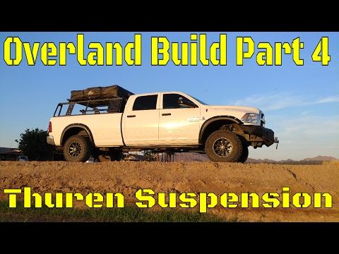 Overland Camping Vehicle Build! Part 4: Thuren Suspension