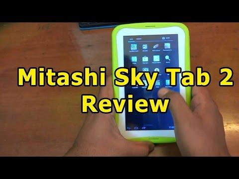 Mitashi Sky Tab 2 Review | Android Kids Tablet