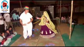 Rajasthani Jat & Jatni Wedding DJ Dance Song During Bandoli - Chaal Bhabhi Mela Me - At Dangiyawas
