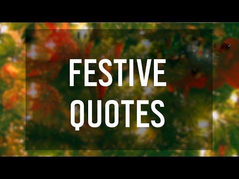 Festive Quotes 🎄