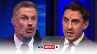 Jamie Carragher & Gary Neville's HEATED clash over the role of Paul Pogba 🤬| MNF