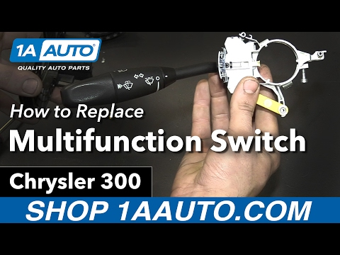 How to Replace Install Multifunction Switch 06 Chrysler 300