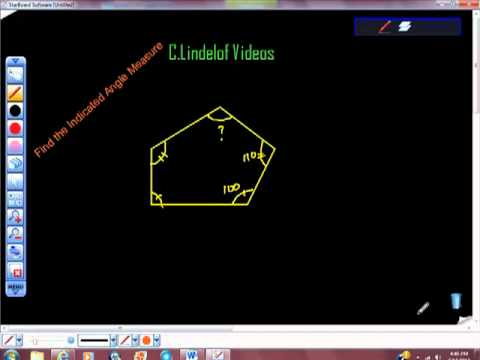 Geometry Find the Indicated Angle Measure II
