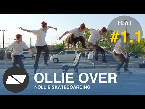 OLLIE OBSTACLES  [SKATEBOARDING TUTORIAL #1.1]
