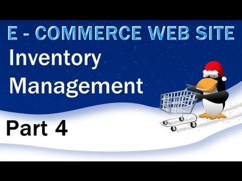 4. E - Commerce Website Tutorial - PHP MySQL Inventory Management