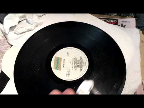 How to fix / remove misting damage from vinyl records - SOLVED!!