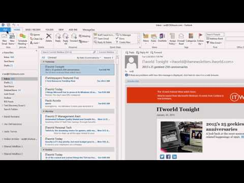 Adding a Signature to Outlook 2013 or Outlook 2010