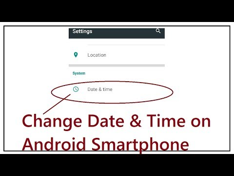 How To Change Date & Time on Android Smartphone  or Tablet