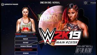 WWE 2K19 ALL 30+ MATCH TYPES - Ambulance Match, Buried Alive