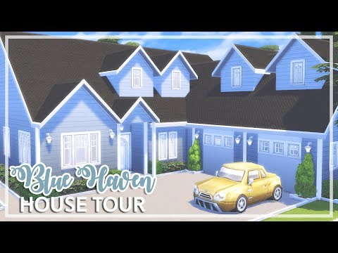 The Sims 4 - HOUSE TOUR | Blue Haven