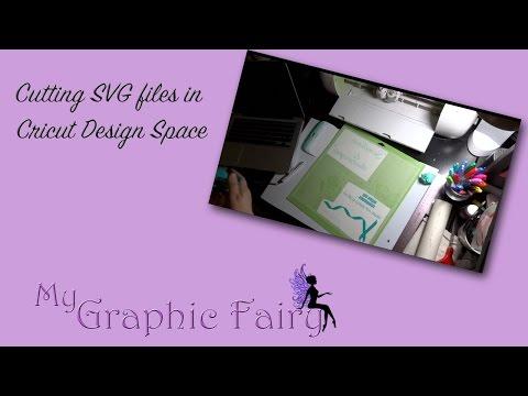 Cutting SVG files in Cricut Design Space Tutorial