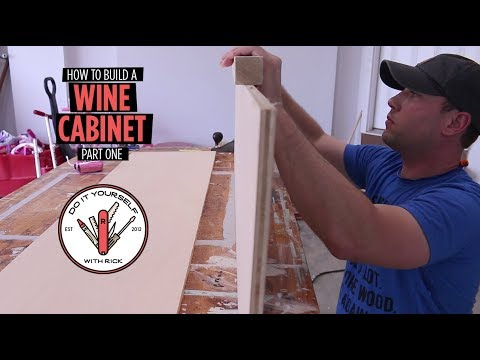 Build a Wine Cabinet - Part One