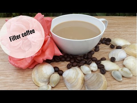 Filter Coffee Without Coffee Maker/ Coffee Cappuccino Recipe At Home