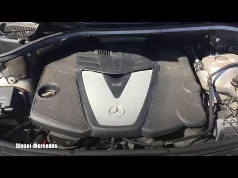 Mercedes-Benz OM642 Engine Cold Start, Idle