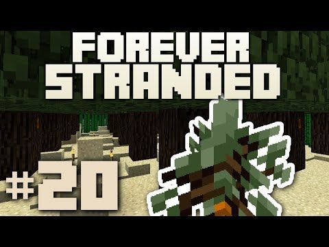 Minecraft- Forever Stranded [20] RUBBER TREE FOREST