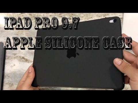 iPad Pro 9.7 Apple Silicone Case Charcoal Gray
