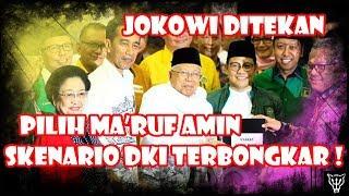 Jokowi Ditekan, Pilih Ma'ruf Amin, Skenario Ahok Harus Kalah di DKI Terbongkar