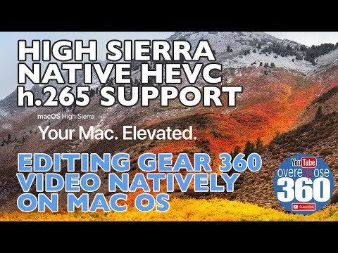 High Sierra Native 265 Support - and Editing in Final Cut Pro (FCPX)
