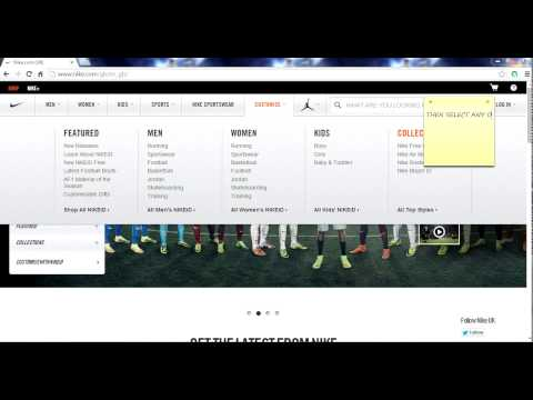How to customize any Nike shoes and order it online 2014