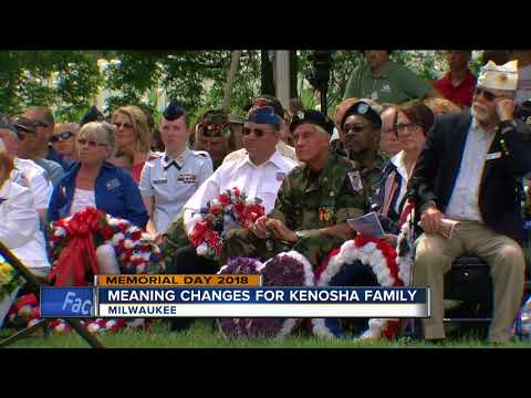 Hundreds come out for Wood National Cemetery Memorial Day services