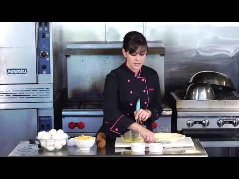 Quiche Puff Pastries With Eggs & Heavy Cream : Easy Quiche Recipes