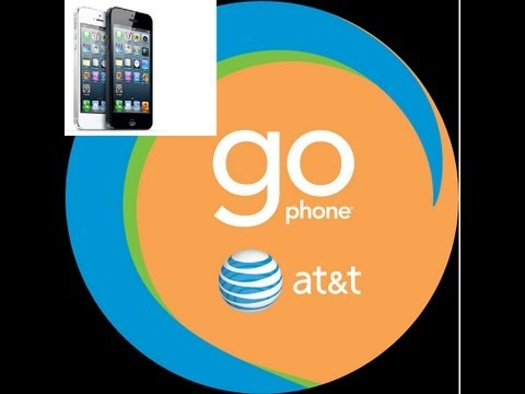 How to use AT&T GoPhone (Prepaid) on iPhone 3gs, 4, 4s, 5, 5S, 5C (Pay as you go & plans)