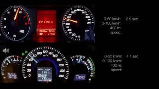 Volvo XC90 2 5T 0-100 racelogic acceleration - PakVim net HD Vdieos