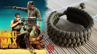 How to Make a Mad Max Trilobite Paracord Bracelet Tutorial