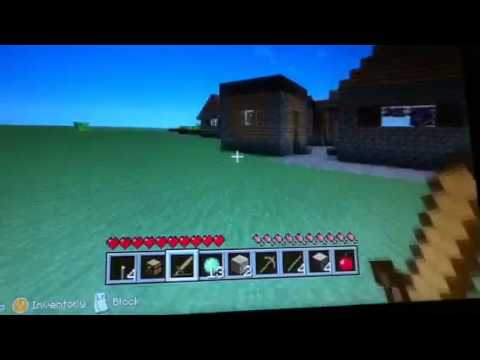 Minecraft Xbox 360: Superflat Survival #1: Stupid Slimes!