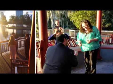 Boyfriend Arranges Fake Wedding For Proposal