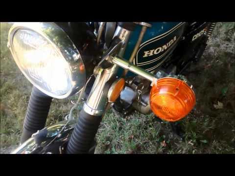 1975 Honda 125S Slow Turn Signal Flasher Fix