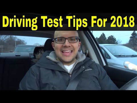 Driving Test Tips For 2018