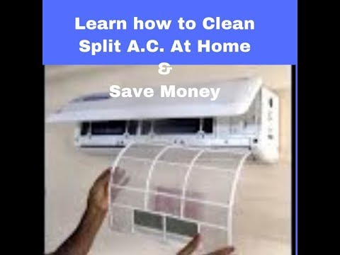 Process of Servicing Split AC Filters at home easily