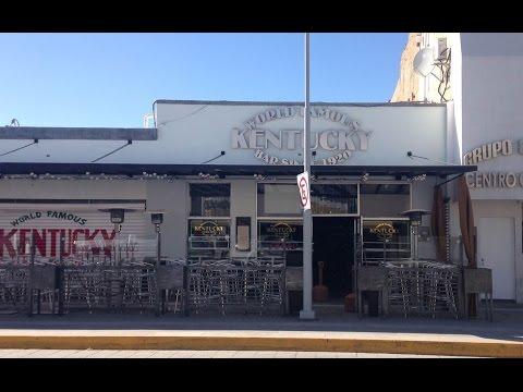 The World Famous Kentucky Club, Juarez, Mexico - History and Tour