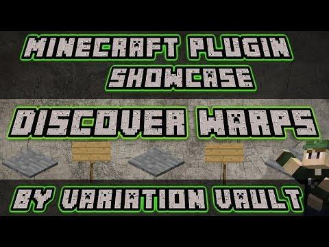 Discover warps | RPG checkpoint warps| Minecraft Bukkit Plugin