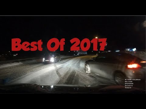 Best Of Bad Driving 2017 (Dashcam France)